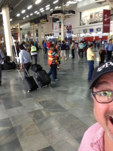 Landed in San Pedro Sula